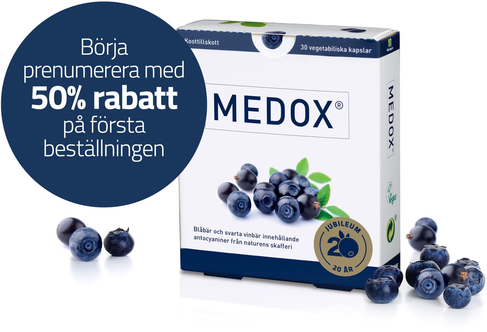 Medox 50% rabatt