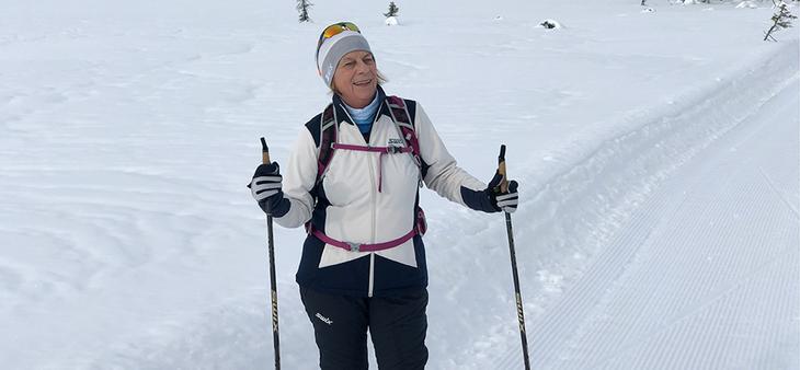 Fornøyd kunde, Berit Grønland, Medox - tar vare på helsen