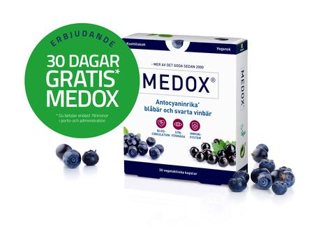 Kampanje, 30 dager gratis Medox